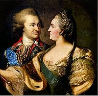 Екатерина II и Потемкин