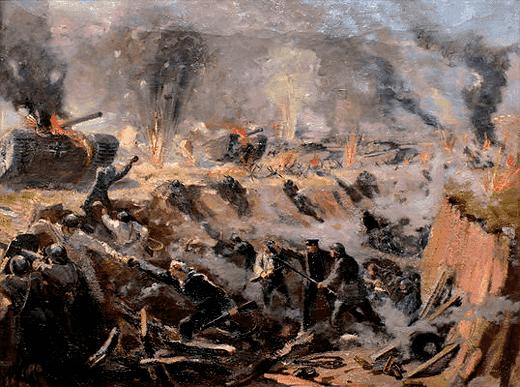 Бой моряков у Эльтигена