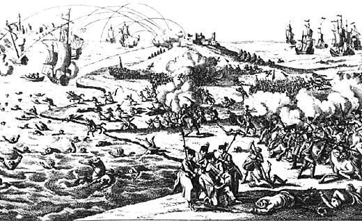 Разгром турецкгог десанта