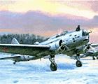 Рисунок бомбардировщика ДБ-3