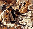 Защитники Севастополя. С картины художника Н.С. Присекина
